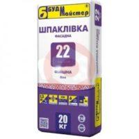 Купить Шпаклевка финишная белая фасадная Будмайстер ТИНК 22 20