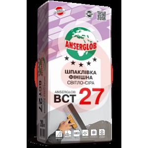 Купить Шпаклевка финишная светло-серая Anserglob ВСТ 27 20кг