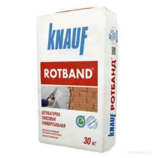 Купить Штукатурка гипсовая универсальная KNAUF RODBAND 30кг