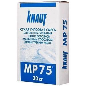 Купить Штукатурка машинная KNAUF MP 75 30кг