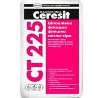 купить Фасадная финишная шпаклевка серая Ceresit СТ 225 25 кг
