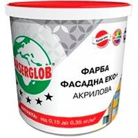 Купить Фасадная краска ANSERGLOB Эко+ 14 кг акриловая