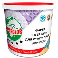 Купить Краска интерьерная акриловая Anserglob для стен и потолков