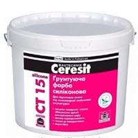 Купить CERESIT CT 15 silicone грунтующая силиконовая краска