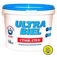 Купить Краска Sniezka Ultra Biel белый 10 л 14 кг