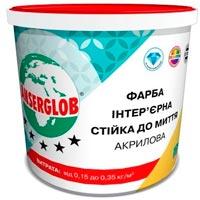 Купить Краска интерьерная акриловая стойкая к мытью Ансерглоб 7 кг