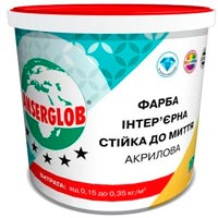 Купить Краска интерьерная акриловая стойкая к мытью Ансерглоб 14 кг
