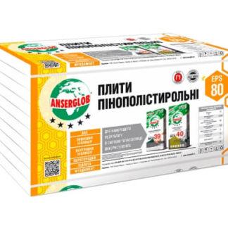 Купить Пенопласт Anserglob EPS-80